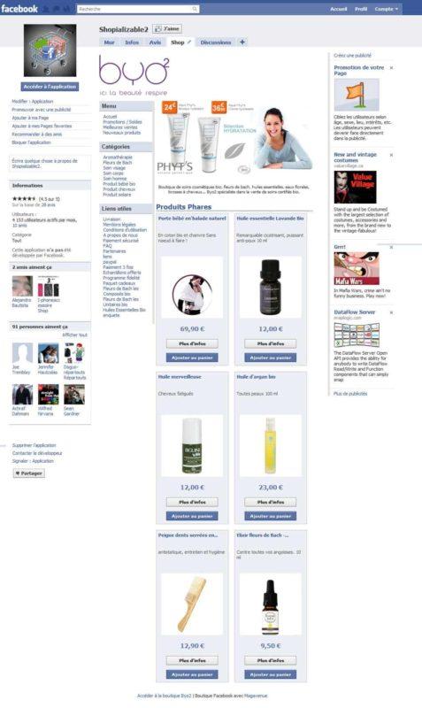 Créer sa boutique Facebook